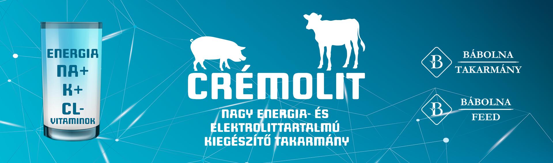 Cremolit elektrolitpótló
