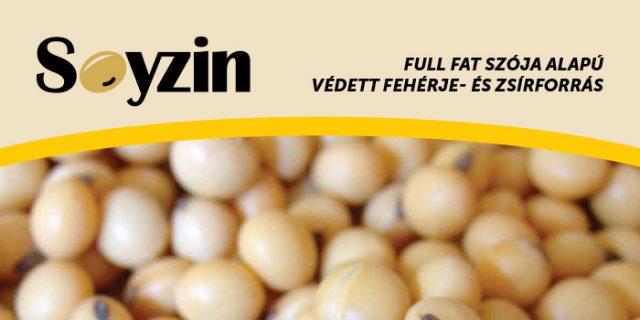 Soyzin védett fehérjeforrás