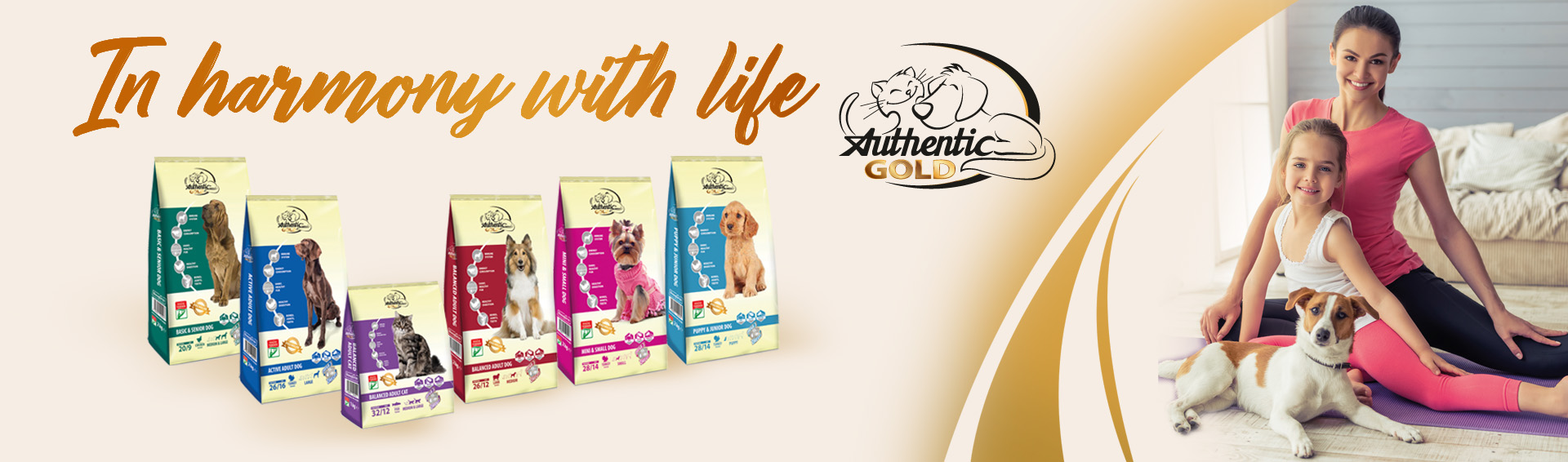 Pet food Authentic Gold