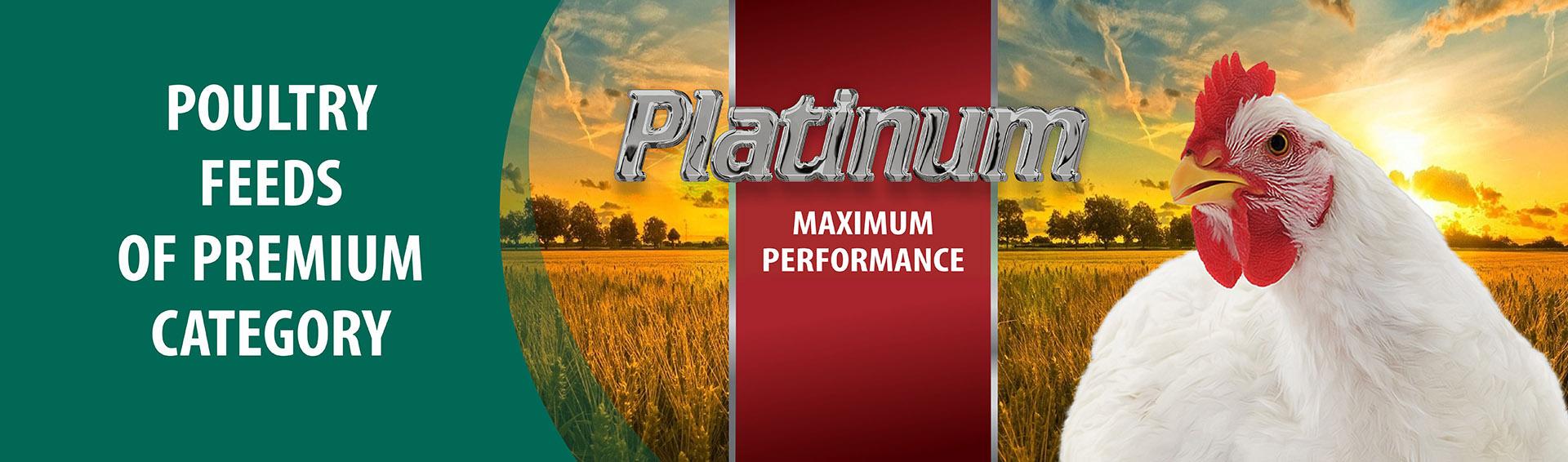 Platinum broiler feed